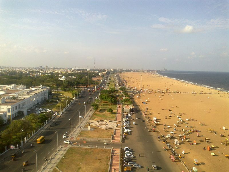 Marina_Beach_road,Chennai