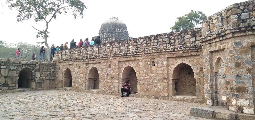 Walled mosque