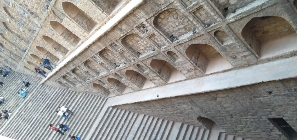 Agrasen Ki Baoli Stairs