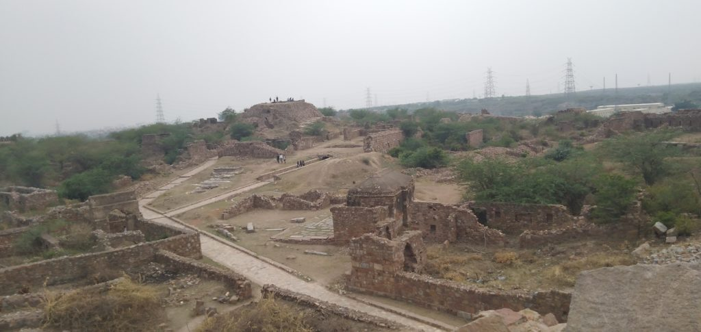 Tughlaqabad Fort Architecture