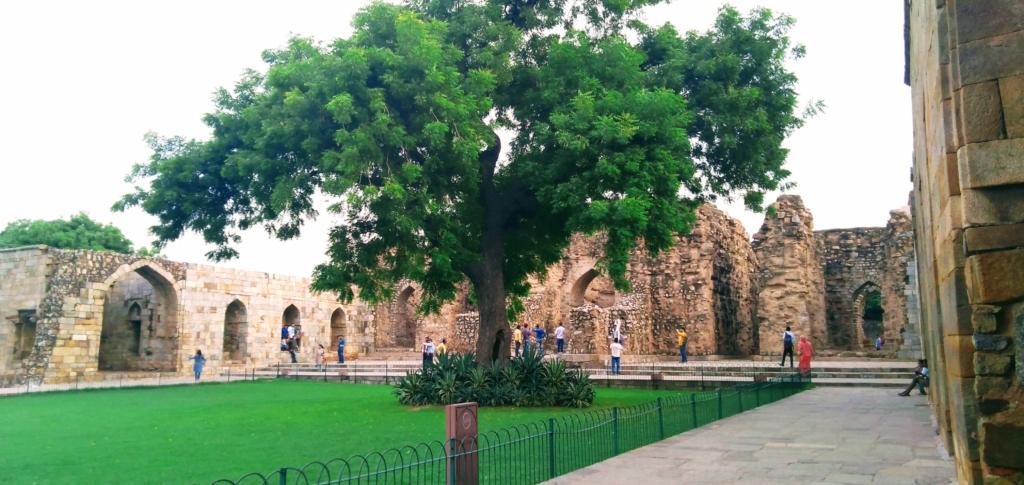 Ala-Ud-din Khalji's tomb and Madrasa