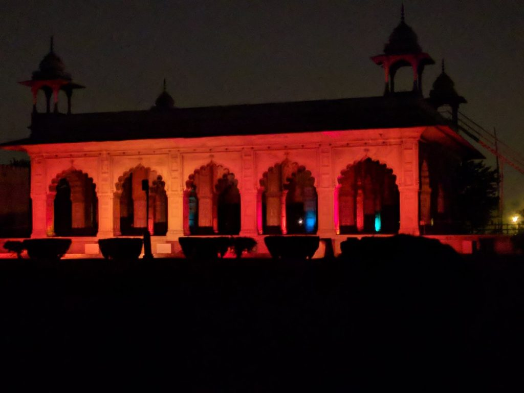 Red Fort light and sound show
