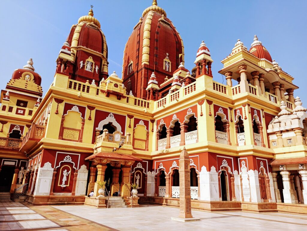 Architecture of Birla Mandir Delhi